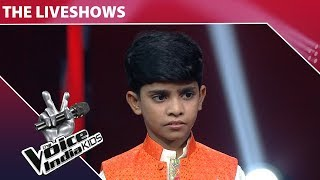 Fazil Performs on Saawan Mein Lag Gayi Aag | The Voice India Kids | Episode 15