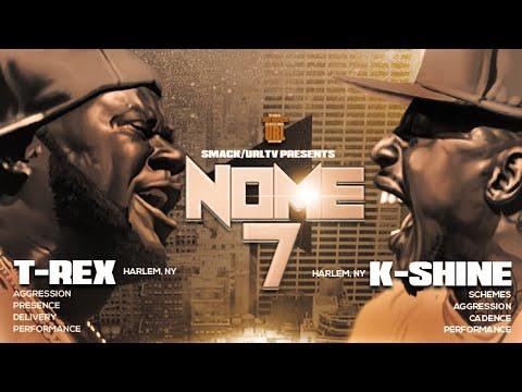 T-REX VS K-SHINE SMACK/ URL RAP BATTLE
