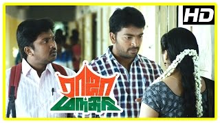Raja Manthiri Tamil Movie Scenes | Shalin Zoya and Kalaiarasan argue in the class | Bala Saravanan