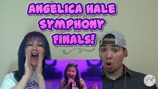 MOM & SON REACTION! Angelica Hale 10-Year-Old Stuns With