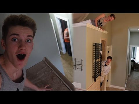 CRAZY HIDE AND SEEK IN THE NEW HOUSE