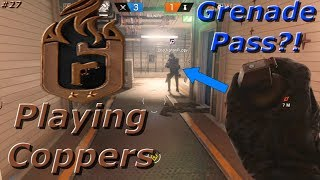 Passing a Frag?! Road To Copper - Rainbow Six Siege Funny Moments