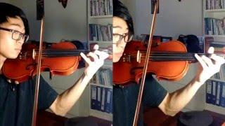 【Owarimonogatari ED】Sayonara no Yukue「Violin Cover」Alisa Takigawa