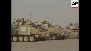 Challenger 2 Tank Operaion Telic 1 (Invasion Of Iraq 2003)