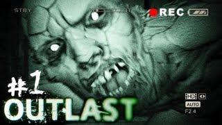 Outlast - Parte 1 - L'HORROR PIU' TERRIFICANTE MAI FATTO!!