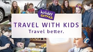 Travelling With Kids - The Airport ✈️ | Holiday Extras Travel Guides