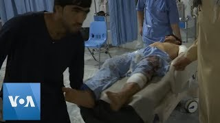 Afghanistan Blast: Victims Brought to Kabul Hospital