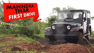 Mahindra Thar CRDe 4x4 : First Drive : PowerDrift