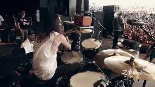 Zildjian On The Record - Patrick Kirch of The Maine on Forever Halloween - Playthrough
