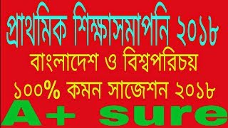 PSC/PEC Bangladesh and Global studies final ,short ,exclusive 100% common suggestion 2018