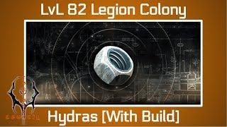 Battle Pirates: LvL 82 Legion Colony [Hydras] NEW Base Parts Target