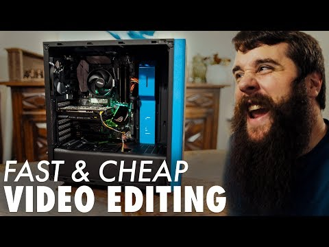 How To Build A Video Editing Computer 850 Ryzen PC Beginners Build Guide 2017