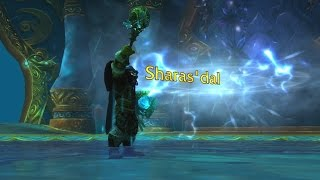 The Story of Sharas'dal, Scepter of Tides [Artifact Lore]