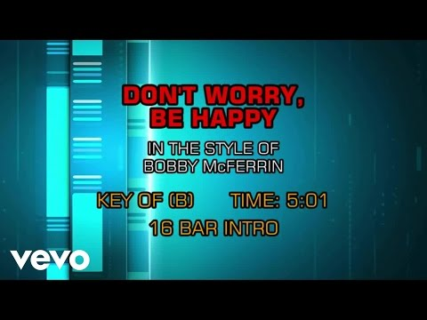 Download Bobby McFerrin - Don't Worry Be Happy (Karaoke)