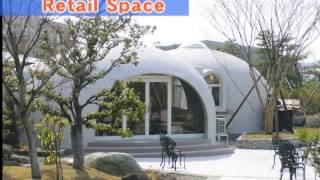Expanded Polystyrene Made Dome House