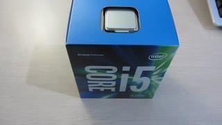 Intel Core i5 6600 Skylake CPU Unboxing