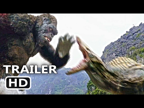 KING KONG Official Trailer CLIP The Fight 2017 Blockbuster Action Movie HD