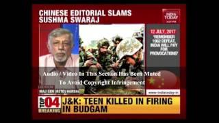 Chinese Media Calls Sushma Swaraj A Liar
