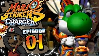 Mario Strikers Charged Let's Play w/ PKSparkxx - Part 1 |