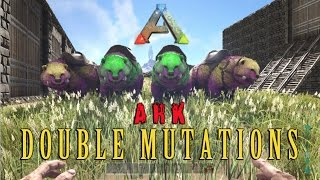 ARK: Survival Evolved - How to Get RARE DOUBLE MUTATIONS