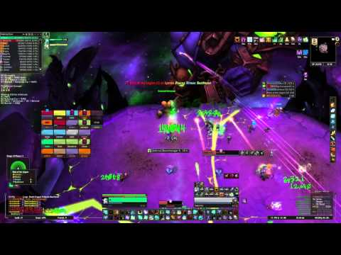 Solo Healing Mythic Archimonde 4:24