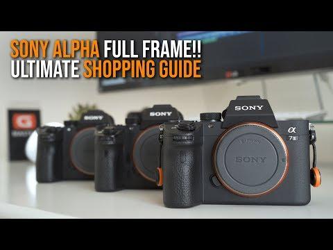 Xxx Mp4 ULTIMATE BUYING GUIDE Sony Full Frame Camera A7II A7RII A7SII A7III A7RIII A9 BLACK FRIDAY 2018 3gp Sex