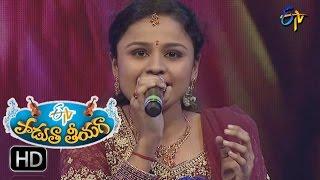 Dheepaniki Kiranam Song | Nadapriya Performance in ETV Padutha Theeyaga | 15th January 2017