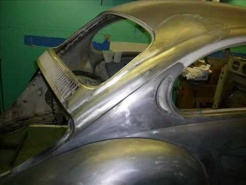 Xxx Mp4 1972 VW Beetle Restoration Rear Quarter Rust Repair 3gp Sex
