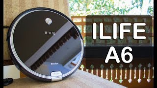 ILIFE A6 Home Cleaning Robot Review, Battery test,Welcome to the Era of Home Automation !!!