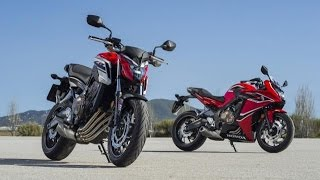 2017 Honda CBR650F and CB650F If You Think the Sports Middleweight Is Finished Think Again