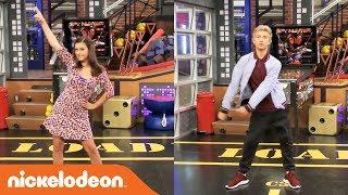 Thomas Kuc & Maddie Shipman🕺💃 Game Shakers EPIC Dance Battle!! | Nick