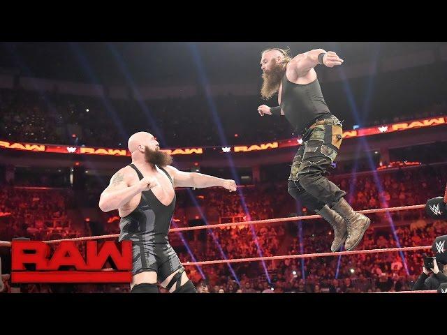 Big Show vs. Braun Strowman: Raw, April 17, 2017