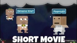 3 sahabat terperangkap di piramid (Growtopia Indonesia)