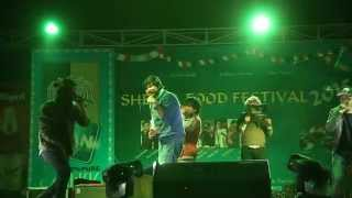 B Eight Performing live Sherpa Food Festival 2015