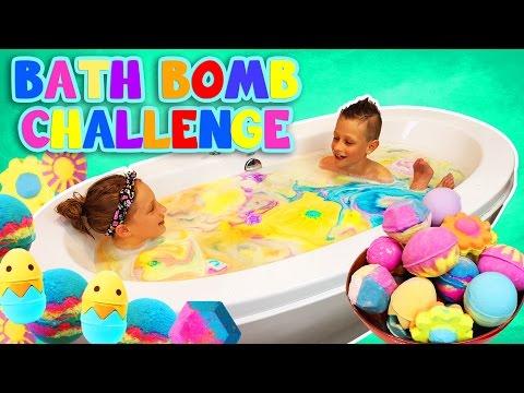 Xxx Mp4 BATH BOMB CHALLENGE 3gp Sex