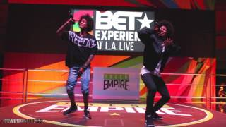Les Twins Rap Live | BET Experience 2016 | World of Dance