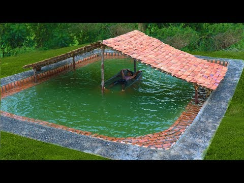 Xxx Mp4 Building The Most Beautiful Biggest Swimming Pool Underground In The Forest Full Video 3gp Sex
