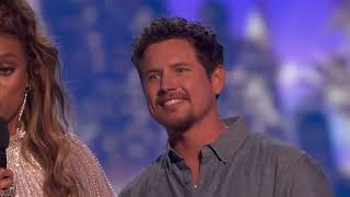 The Moment Brian King Joseph Received 3rd Place On AGT   America