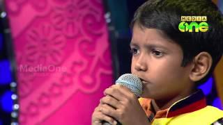 Pathinalam Ravu Season3 Azad Singing 'Makkathe rajathiyay vanidum Khdeejabi..' (Epi46 Part4)