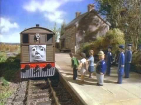 thomas y sus amigos toby el tranvia.