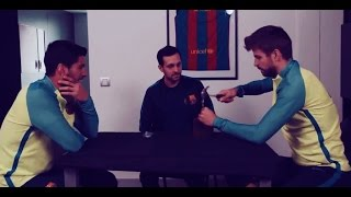 Dynamo amazes Barcelona players with his spectacular tricks  /