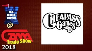 Cheapass Games presents Button Men and more at GAMA 2018!