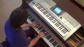 Massari - Habibi - Brand new Day - piano & keyboard synth cover by LIVE DJ FLO
