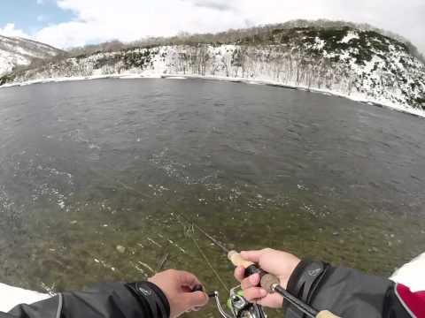 ловля гольца на камчатке видео