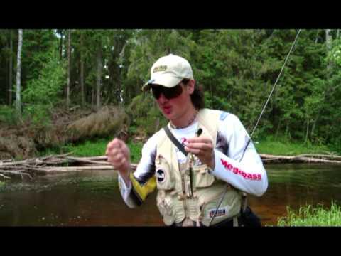 спиннинговая рыбалка на малых реках. лето 2013