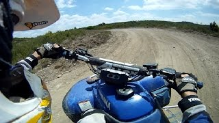 Warrior 350 Ripping Up The Trails!!! WIDE OPEN THROTTLE