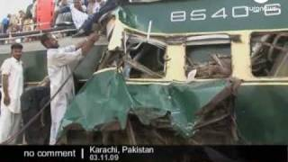 Pakistan Train Accident