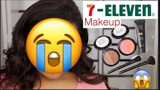 FULL FACE USING 7-ELEVEN MAKEUP -- irisbeilin