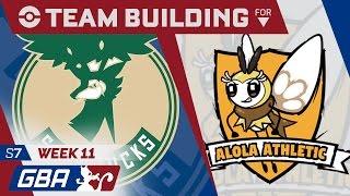 GBA S7W11- Milwaukee Sawsbucks Locker Room [vs Alola Athletic]