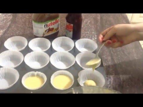 Cup cakes facile كاب كيك سهل و لذيذ (sahl w sri3)